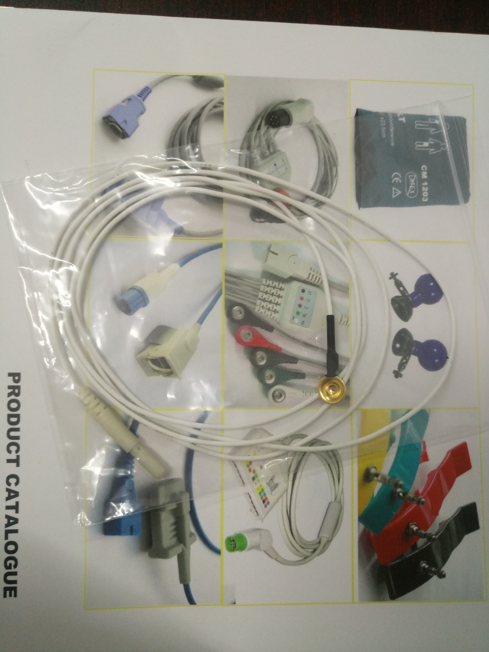 Free Shipping Cup , EEG cord, (1.4 m)