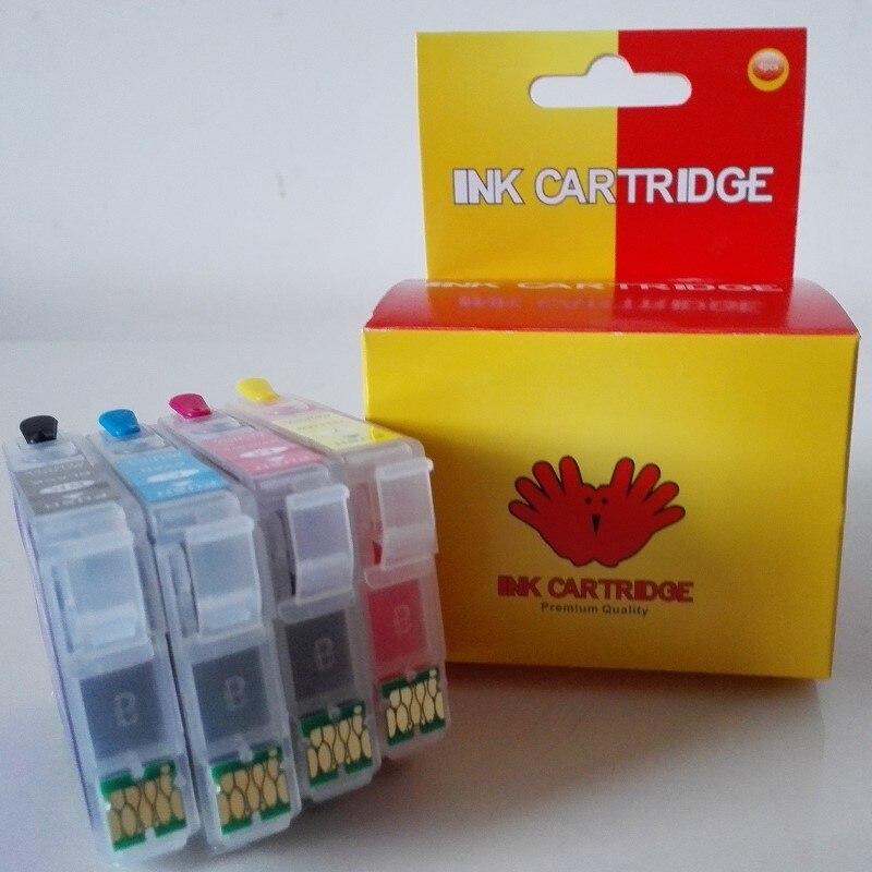 La tinta T1811 18XL cartucho de tinta rellenable con chip uso para XP-30 XP-102 XP-202 XP-302 XP-312 XP-205 XP-305 XP-215 impresora