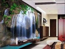[Autoadhesivo] 3D cascada Valley 061 papel mural pared impresión pegatinas para Murales y Paredes