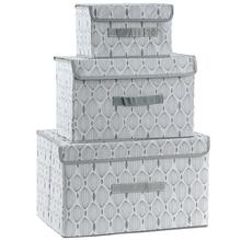 Neue Große Nicht-Woven Stoff Falten Lagerung Box Unterwäsche Kleidung Lagerplätze Kid Spielzeug Organisatoren Kleiderschrank Container Mit Deckel