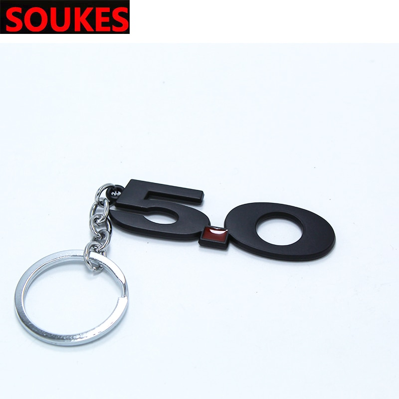 Car Keyring Keychain Key Chain Auto Ring Holder 5.0 For Peugeot 206 307 407 308 208 3008 Toyota Corolla Yaris Rav4 Avensis Mini