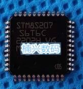 20 pcs/lot STM8S207S8T6C STM8S207S8T6 STM8S207 LQFP-44 En Stock