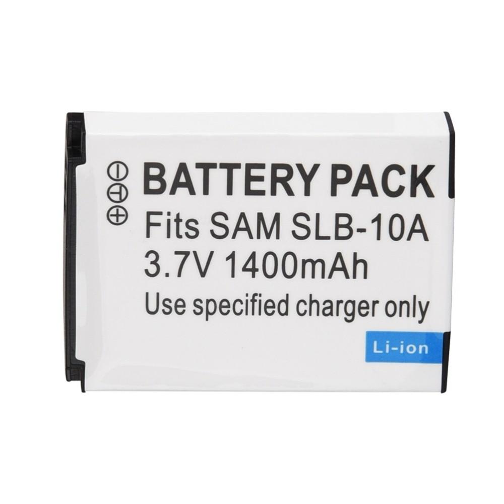 1 pcs SLB-10A SLB 10A SLB10A Bateria Para Câmera Samsung SL102 SL202 SL420 SL620 HZ10W HZ15W ES55 ES60 L100 L110 l200 L210 HMX-U10