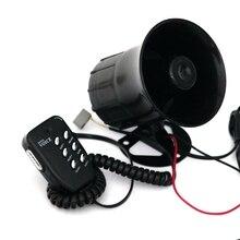 Motorrad Auto Auto Laut Air Horn 125dB Sirene Sound Lautsprecher Megaphon Alarm Van Lkw Boot 50w 12v Sechs-ton Änderung Teile