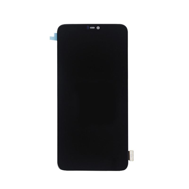 6.28 inches AMOLED for Oneplus 6 LCD display touch screen replacement kit AMOLED original LCD display 2280 * 1080 glass screen enlarge