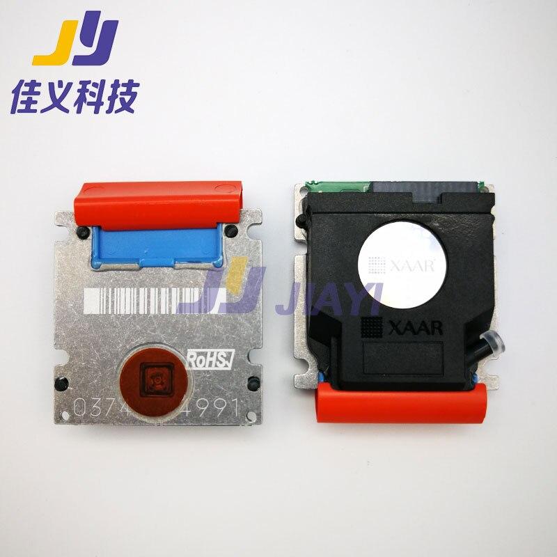 العلامة التجارية الجديدة والأصلية Xaar 128 80PL رأس الطباعة 128 200 ديسيبل متوحد الخواص 80pl رأس الطباعة الأزرق لانهائي/Liyu طابعات التنسيقات الكبيرة