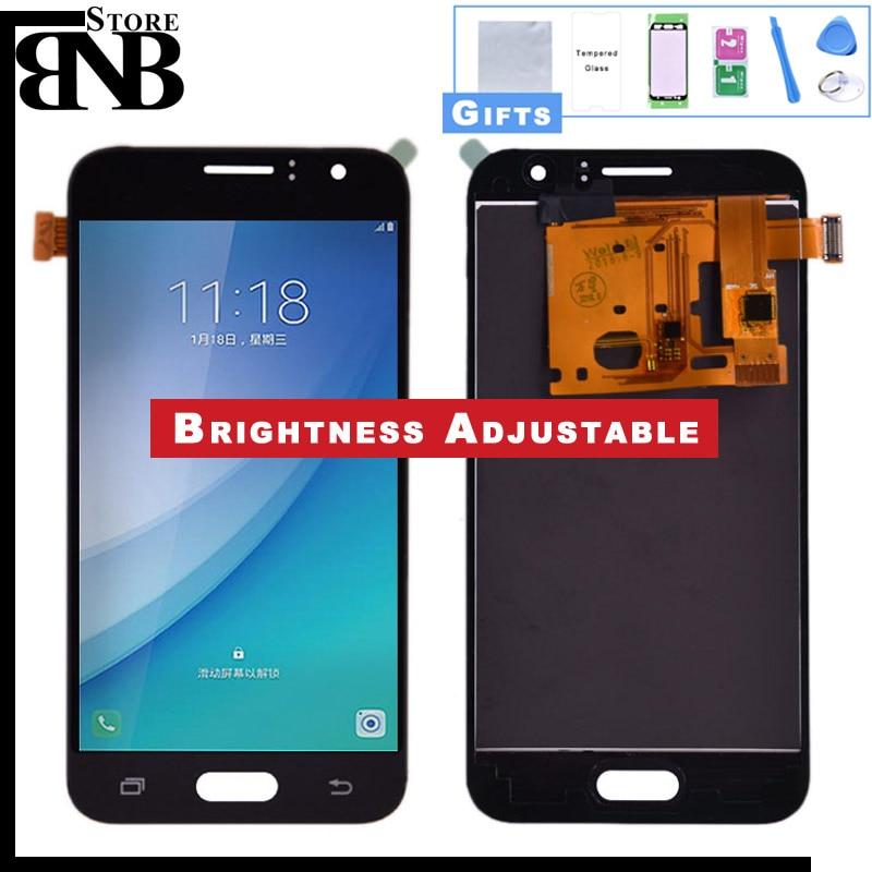 4,5 J120 LCD para Samsung Galaxy J1 2016 J120F J120H J120M pantalla LCD con montaje de digitalizador con pantalla táctil Ajustar brillo