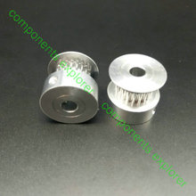 GT2/2GT 20 Tanden Timing katrollen 4mm, 5mm, 6mm, 6.35mm en 8mm voor 3.5mm, 6mm en 9mm Breedte Riem, 2 stks/partij.