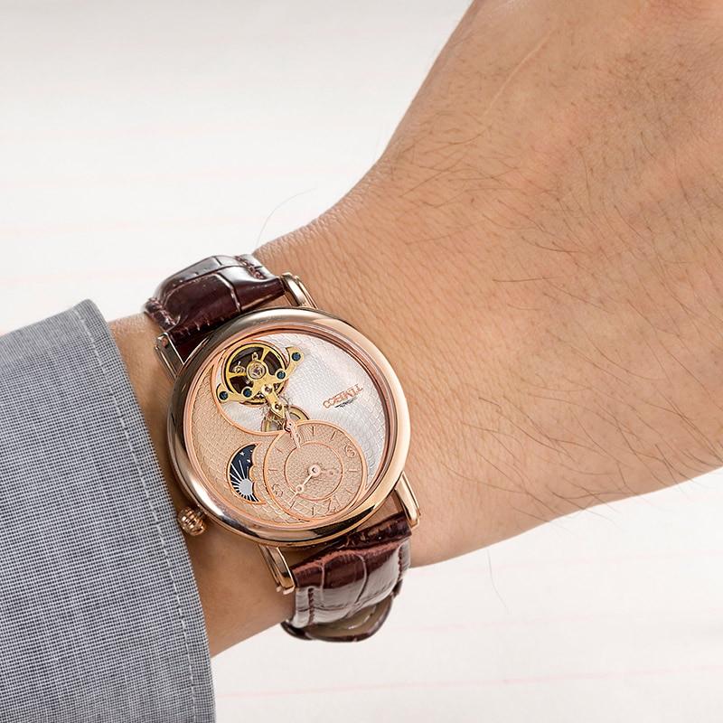TIME 100 Men Watches Luxury Clock Automatic Mechanical Watch Men Business Waterproof Sport Wrist Watch Relogio Masculino new enlarge