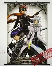 Cartaz Anime D. Gray-man Decoração Poster Pergaminho de Parede Impresso Pintura Home Decor Dos Desenhos Animados Japoneses