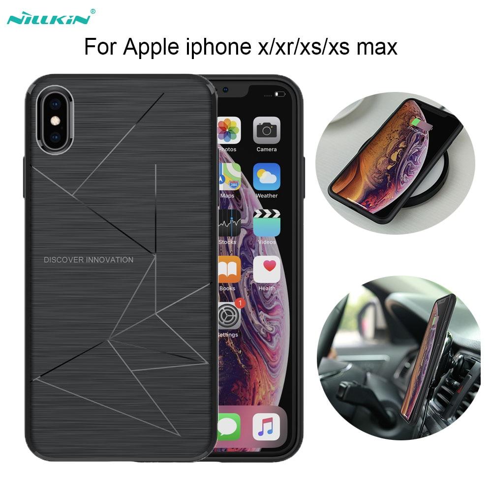 Чехол Nillkin Magic для iphone xs max/iphone xr, беспроводное зарядное устройство Qi для iphone 8/8 Plus, передатчик питания