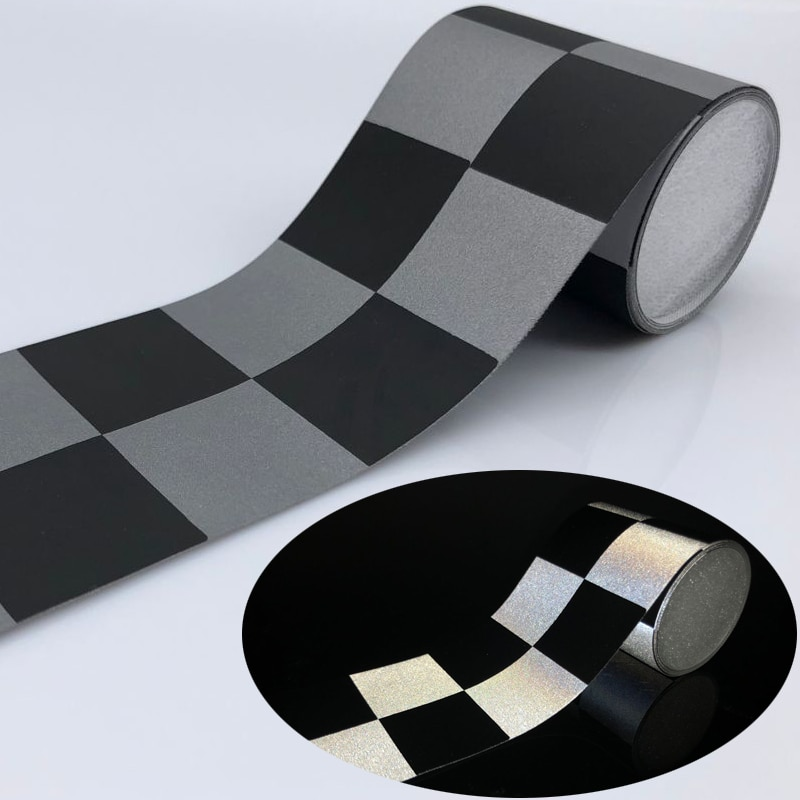 3M cinta reflectante plateada TC tela para coser en la ropa