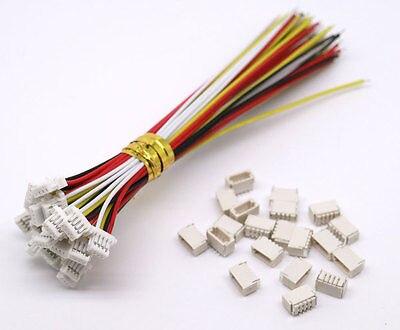 10 juegos Mini Micro SH 1,0 4-Pin JST conector con Cables 100MM personalizado directo de fábrica todo OEM caliente