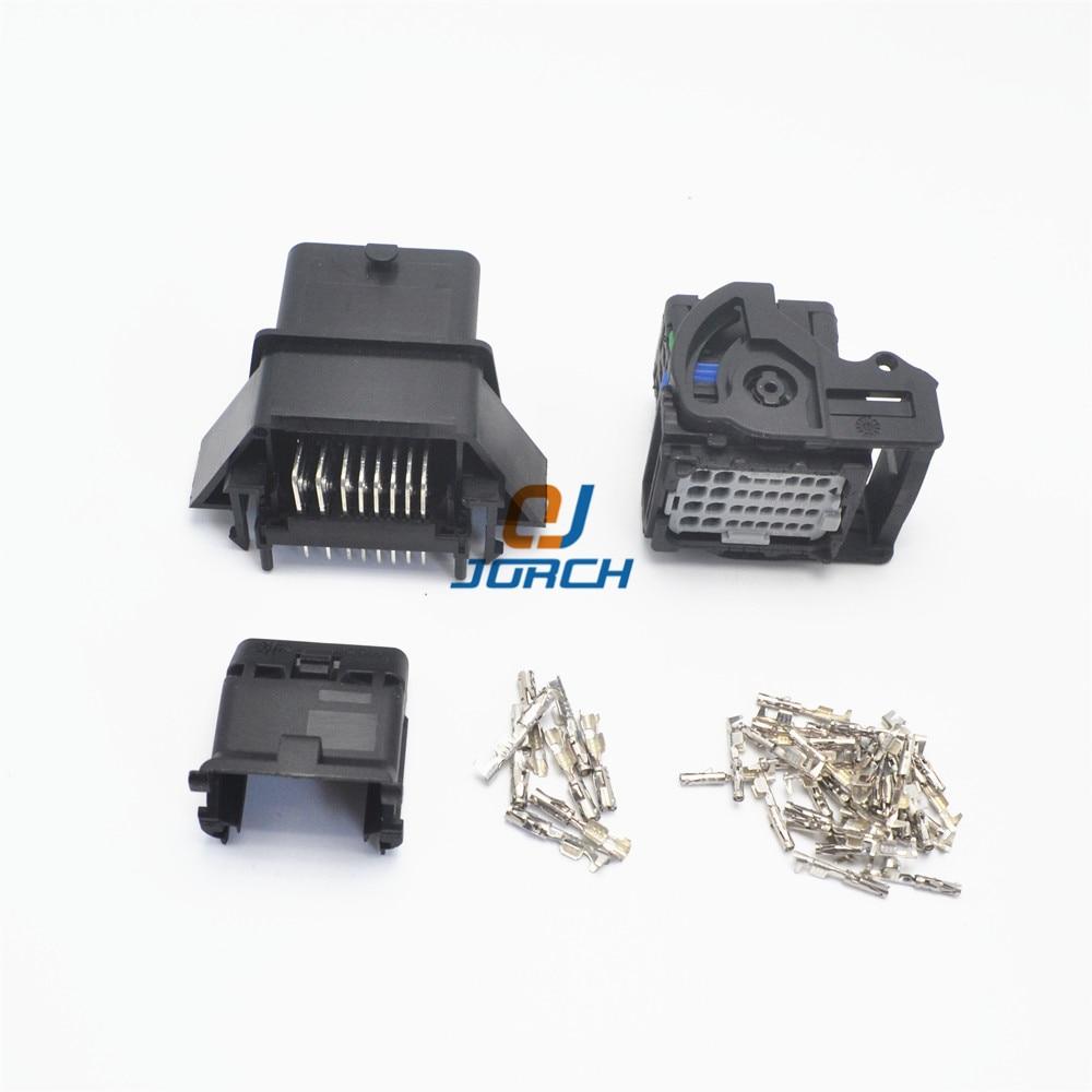 32 pin molex electrical plug male and female auto ecu connector set 0643340100 64319-1211 64319-1201