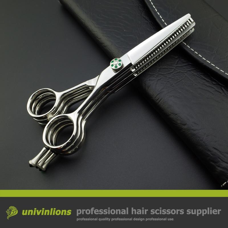 "5.5"" hot salon barber set shears multi blade scissors double thinning scissors hairdressing scissors multi cut scissors coiffure"