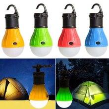 1 Pc Camping Lichten Led Lamp Batterij Aangedreven Tent Hook Zaklamp Tent Licht Lamp 5 Kleuren Opknoping Lamp Draagbare lantaarn