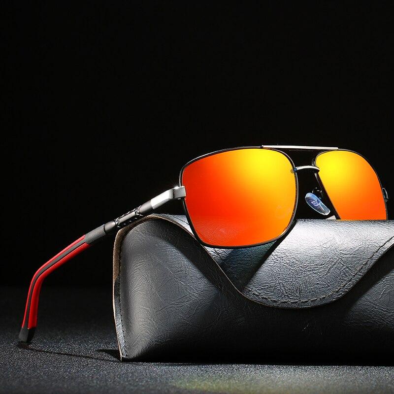 Мужские солнцезащитные очки Брендовые дизайнерские женские Мужские поляризационные солнцезащитные очки модные квадратные мужские солнце...