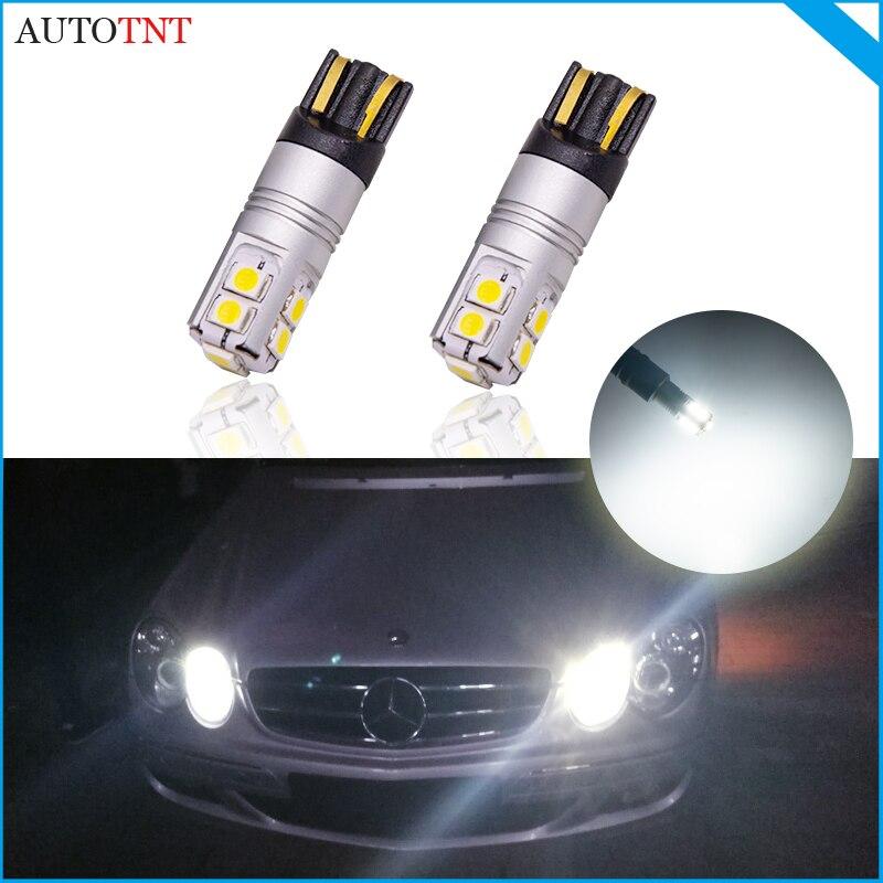 2 шт. W5W T10 Светодиодная лампа для Авто canbus без ошибок для Mercedes-Benz Vito G 55 63 AMG X166 X164 T1 T2 R170 R171 R172 170 W201