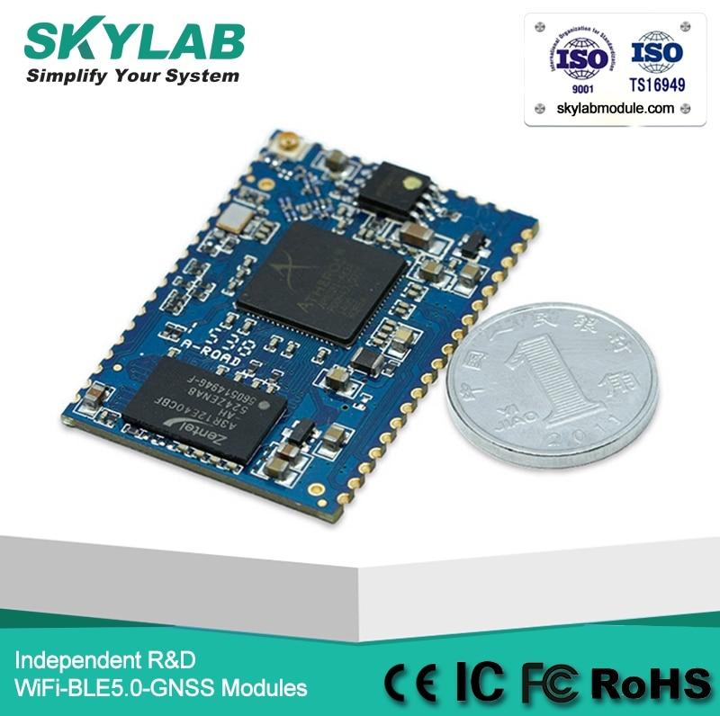 El SKYLAB SKW72 4LAN 1 WAN PA/LNA punto de acceso/router/módulo WiFi UART openwrt atheros AR9331