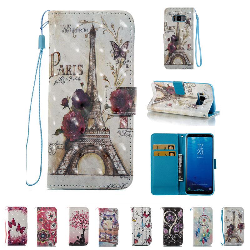 Чехол DAXING для Samsung Galaxy S8 PLUS S6 S7 edge A5 A3 J3 2016 J7 S8 + Чехол-книжка из искусственной кожи для Samsung S7 2017 A3 A5 J5 J7 2017 J3