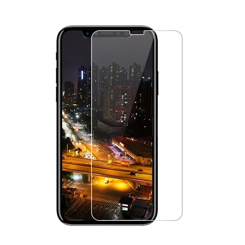 Vidrio Templado Premium 2.5D 0,26mm 9H para Apple iPhone 8 Plus 5 5S SE 5C 4S, película protectora de pantalla endurecida para iPhone X 7 6 6S