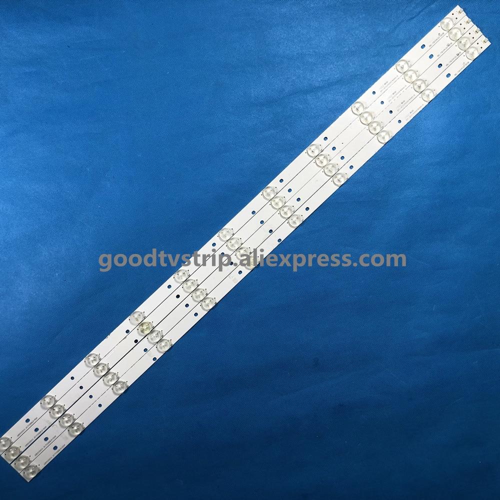 808 مللي متر LED شريط إضاءة خلفي 11 مصباح ل 40