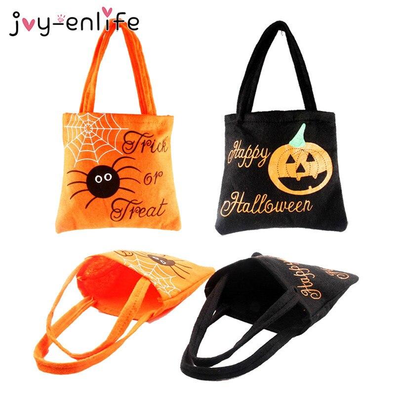 1 шт., Подарочная сумка из нетканного материала, для украшения Хэллоуина, для детей