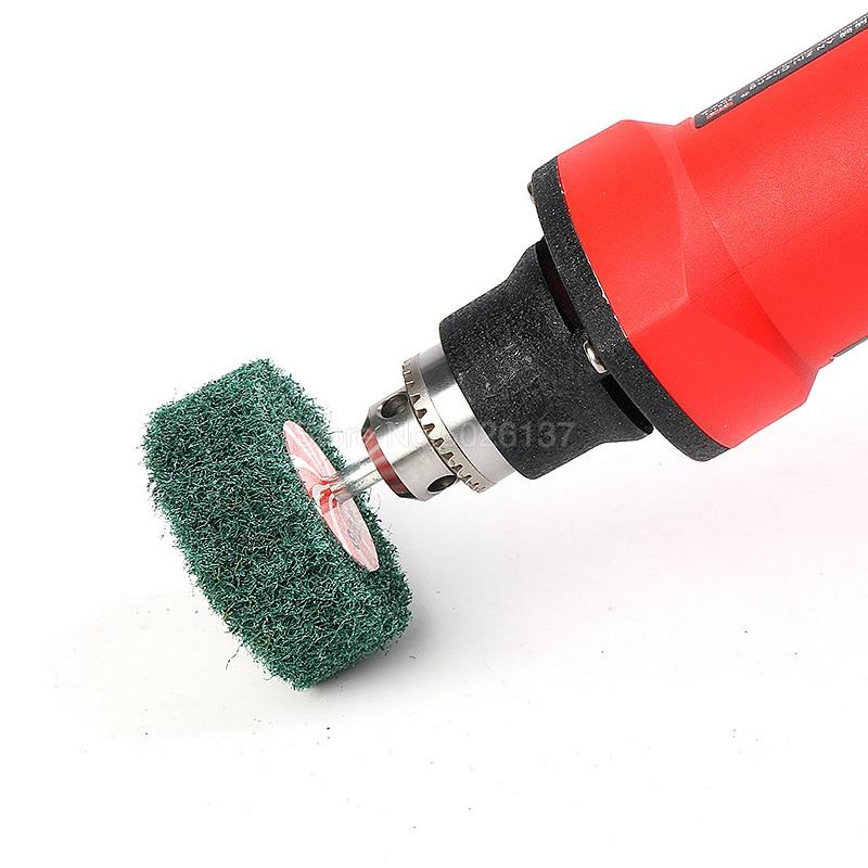 1tk 6mm varraste mittekootud klapiga lihvketta kiud - Abrasiivtööriistad - Foto 4