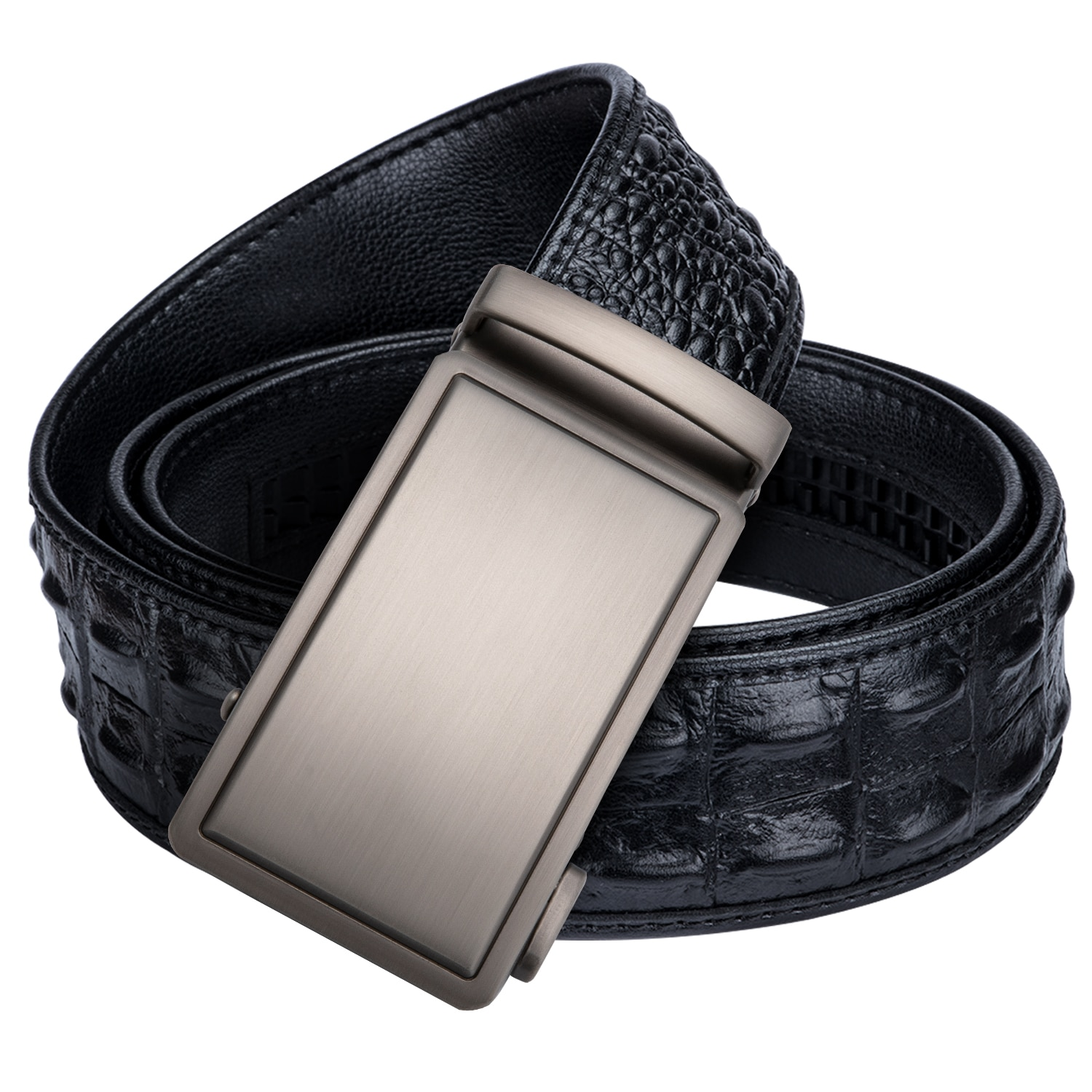 Brand Mens Belt High Quality Cowhide Leather Belt for Jeans Formal Automatic Buckle Belts Wholesale Price Dropship PD-2011-FA