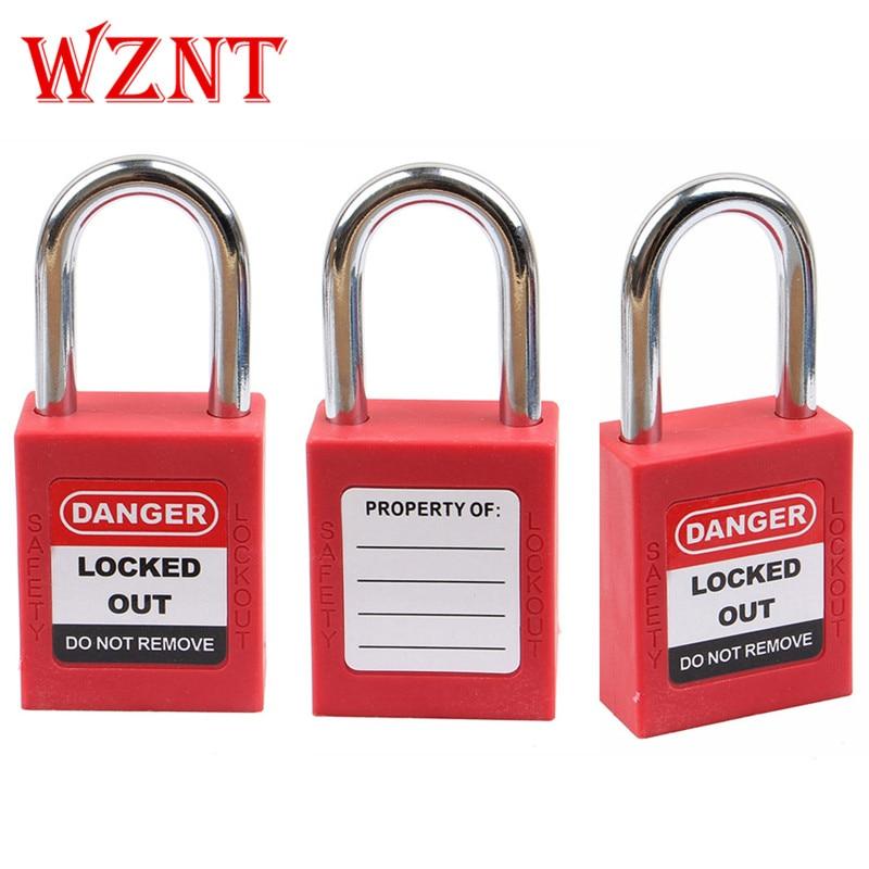 Loto-cadenas de sécurité, 2 pièces, avec serrure pour clé principale, ensemble de cadenas de sécurité