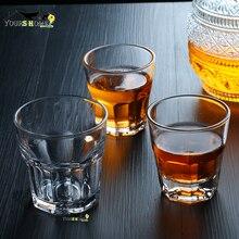 1 Piece 100ml Shot Glass Cocktail Beer Skull Glass Whiskey Vodka Shot Glass Drinking Ware Glass Cup Beer Steins Barware