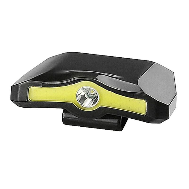 Linterna LED XPE + COB de 90 grados con Clip giratorio para Camping y ciclismo