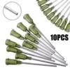Aiguilles de distribution de seringues embout 1.5 longueur 14 pièces/ensemble embouts de verrouillage Luer pour mélanger de nombreux liquides