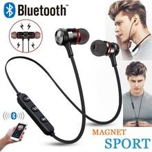 Teamyo Bluetooth écouteur magnétique casque C312 sans fil sport casque basse musique écouteurs micro casque pour iphone Xiaomi