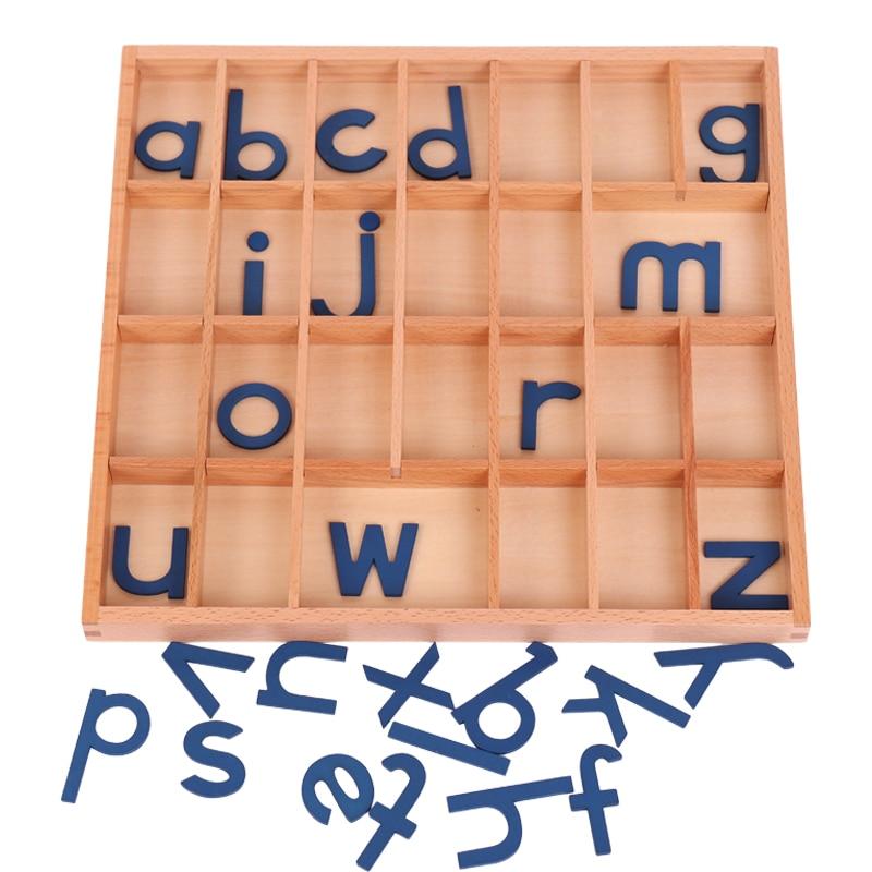 Деревянные игрушки Монтессори Детские алфавиты Монтессори дошкольные развивающие обучающие игрушки для 3 лет Juguetes Brinquedos MI2564H