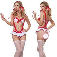 2017 vilain Sexy infirmière Costume femmes Cosplay dames Sexy Lingerie infirmière Costume Sexy infirmière Lingerie Sexy chaud érotique
