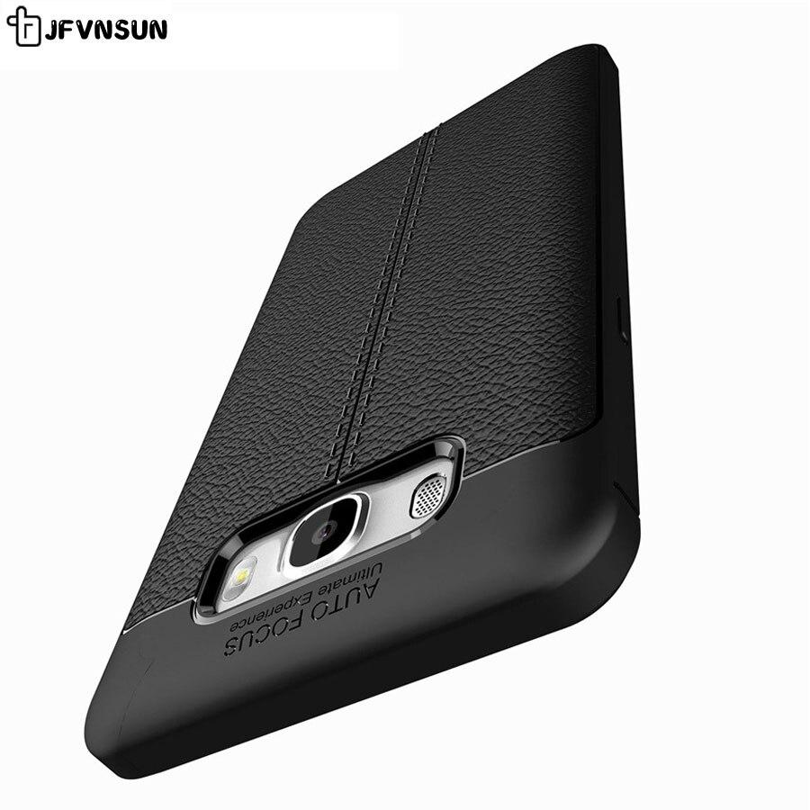 Para Samsung Galaxy J3 J1 J7 J5 2016 J1 mini J2 J5 primer caso, calidad superior antideslizante de silicona suave protector completo de