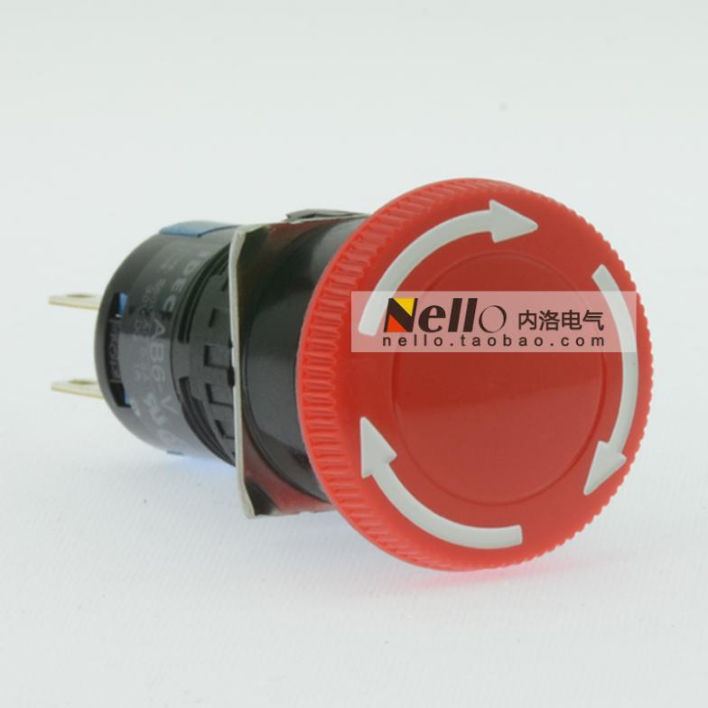 [SA] إيزومي شركة إربد 16 مللي متر حقيقية إيقاف الطوارئ زر التبديل AB6M-V2R دوران تخفيض 2a2b-10 قطعة/الوحدة