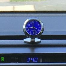 Adornos de temperatura para coche, abalorios, reloj Interior, higrómetro, accesorios digitales para salpicadero