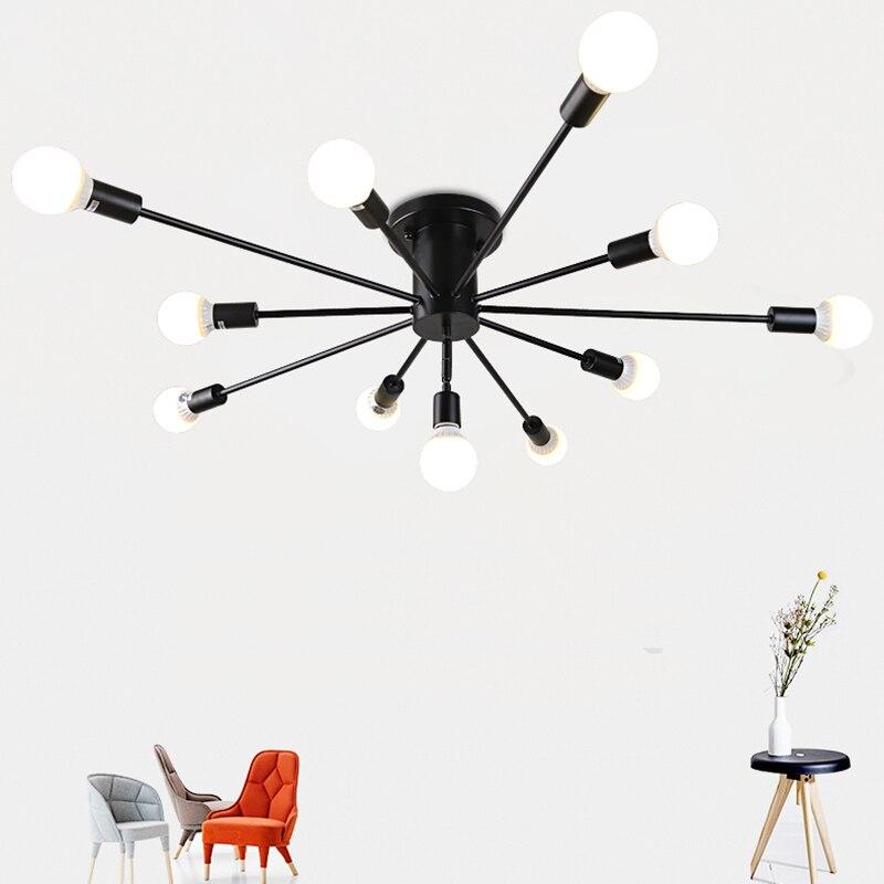 Luces De Techo Vintage, Luminaria para cafetería, Bar, sala De estar, dormitorio,...