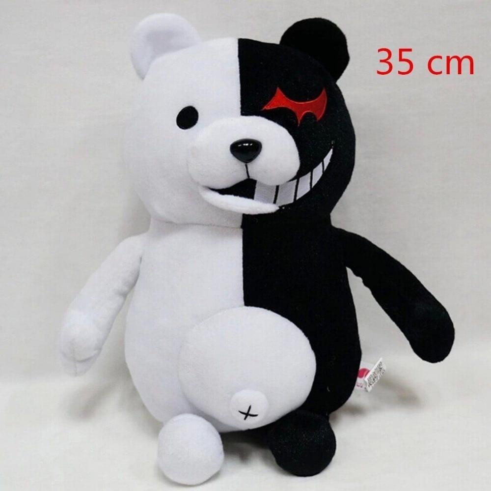 35cm Dangan Ronpa Super Danganronpa 2 Monokuma Black&White Bear Plush Doll Toy