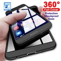 360 degree full protection shockproof hard case for xiaomi 11 cover redmi note 10 9 8 7 pro max 5a prime s2 cases shell coque