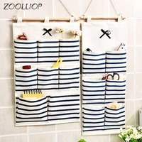 68 storage pockets wall door waterproof hanging bathroom linen cotton sundries folding underwear socks sorting bag organizer