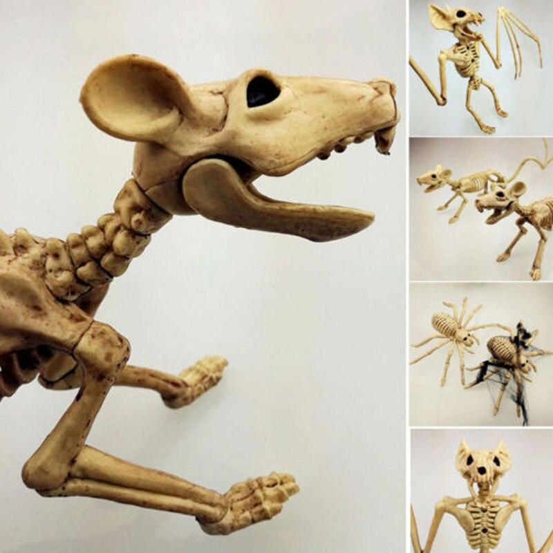 Украшение на Хэллоуин, кости, реквизит, животные, скелет, орнамент, летучая мышь, паук, Ворон, кости, Хэллоуин, ужас, дом, вечерние, Декор
