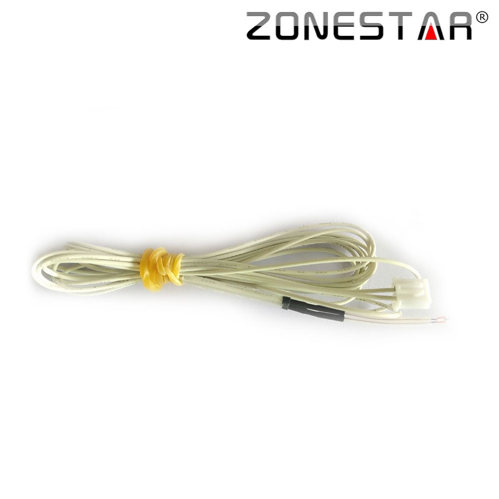 ZONESTAR 5 unids/lote 100K ohm NTC B3950 termistores con cable para 3D DIY kit de impresora