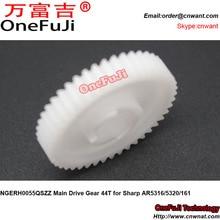 Free Shipping NGERH0055QSZZ Main Drive Gear 44T for Sharp AR 5316 5320 161 AR5316 AR5320 AR161