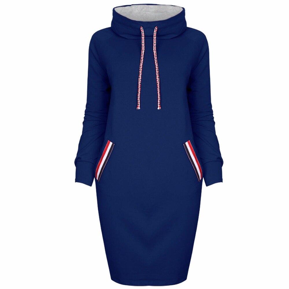 Moda mujer Vestido de punto elegante cuello alto mujeres buena calidad ajustado Oficina Vestidos colección primavera otoño Mujer Vestidos