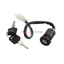 Wotefusi para interruptor de encendido de llave ATV 4 cables 50 90 110 125 150 250CC para Go Kart TaoTao SUNL [PX108]