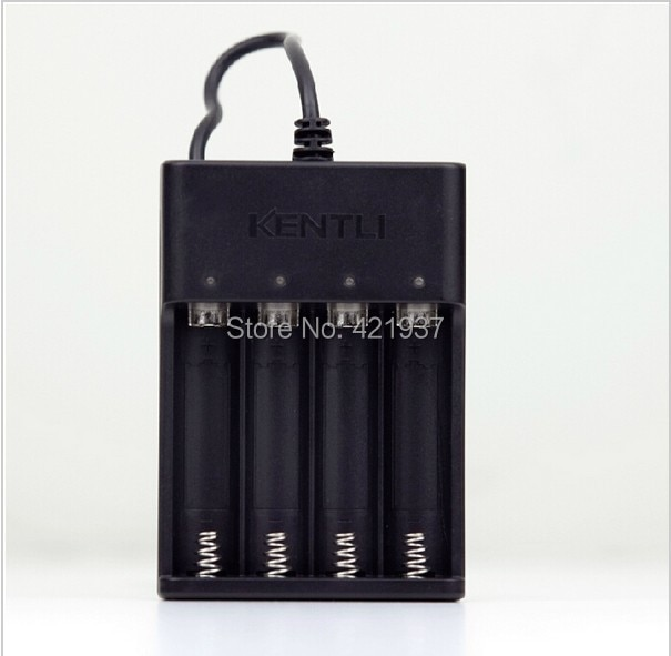 Зарядное устройство KENTLI 4 слота USB для литиевой аккумуляторной батареи KENTLI 1,5 В AA