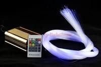personal pathwallfloorstairsceiling light star fiber optic lights 25w wireless color change optical fiber lamp for decor
